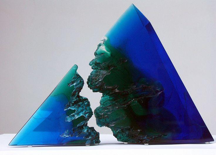 Blue broke mountain ...