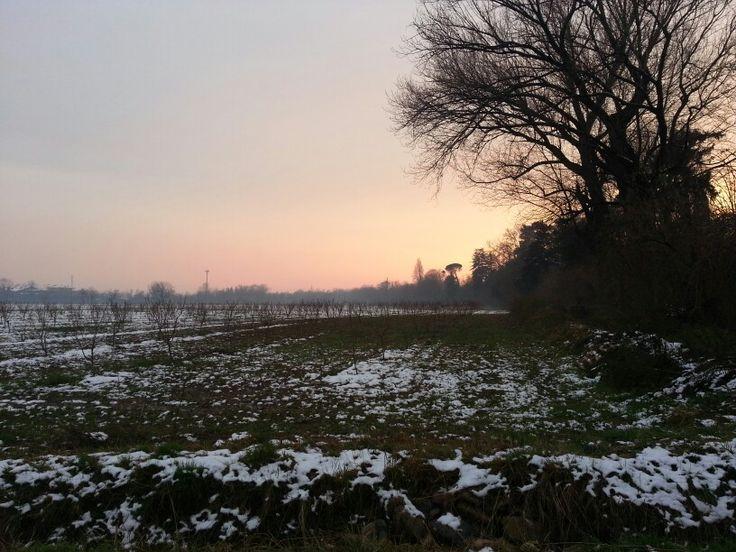 Ti svegli la mattina e inizia a nevicare!  Due giorni dopo il risultato é questo! bellissimo ♥