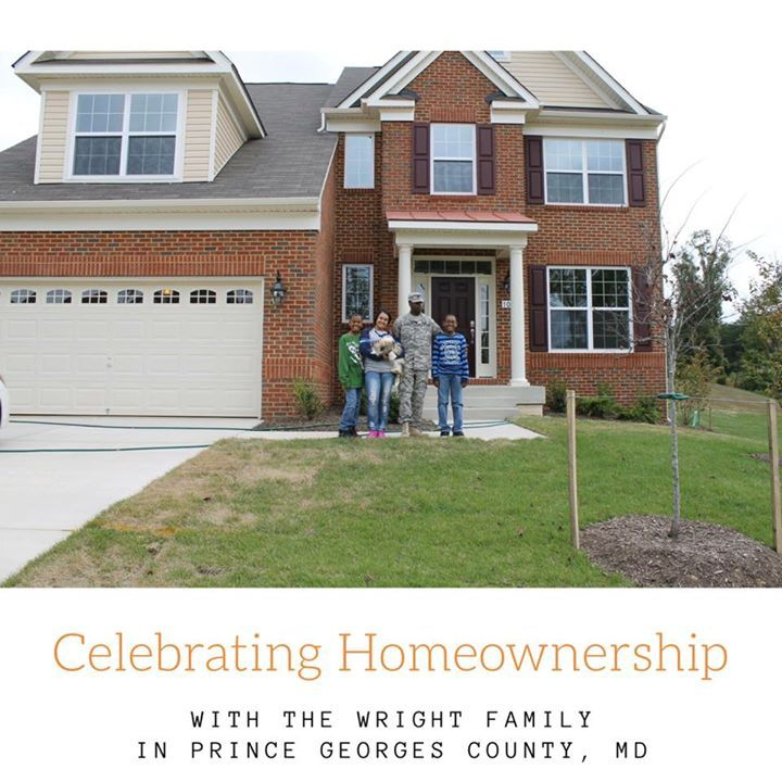 #ThrowbackThursday Celebrating Homeownership with The Wright Family in Prince George's County in their newly built home. It's hard to believe it's been 3 years already. Thank you for your business and friendship.