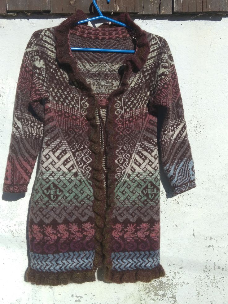 Fly with me Cardigan front