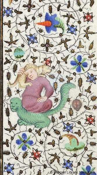 Book of Hours, MS M.453 fol. 54r - Images from Medieval and Renaissance Manuscripts - The Morgan Library & Museum