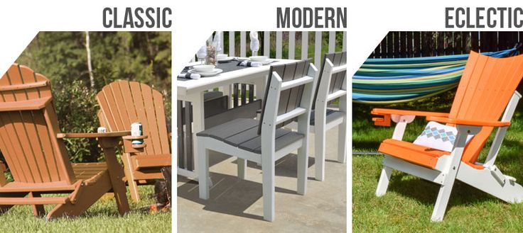 Which Adirondack Furniture Speaks to Your Design Style? | Adirondack Chairs 4 Less