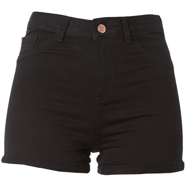 die besten 25 black high waisted shorts ideen auf pinterest shorts mit tupfen f r frauen. Black Bedroom Furniture Sets. Home Design Ideas