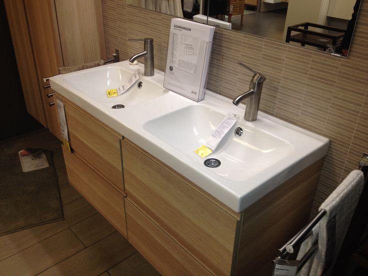 Mobili bagno doppio lavabo ikea design casa creativa e - Bagno doppio lavandino ...