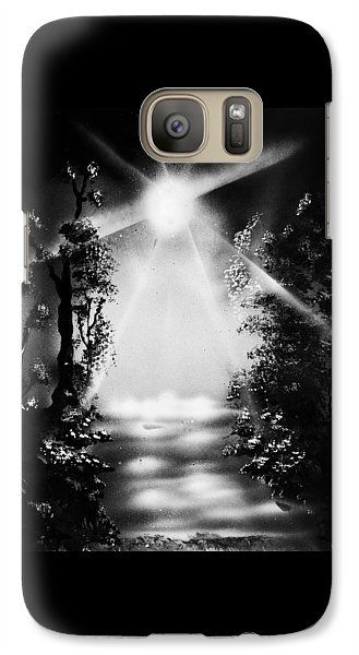 Awakening Dream Galaxy S7 Case  Printed with Fine Art spray painting image Awakening Dream by Nandor Molnar (When you visit the Shop, change the orientation, background color and image size as you wish)