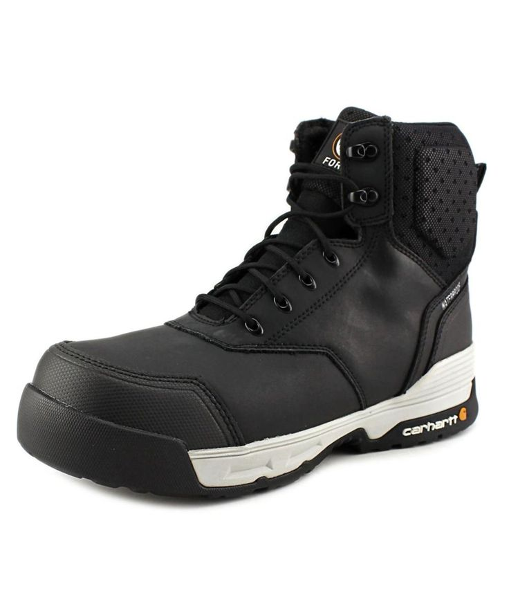 CARHARTT Carhartt 6'' Force Men  Composite Toe Leather Black Work Boot'. #carhartt #shoes #boots