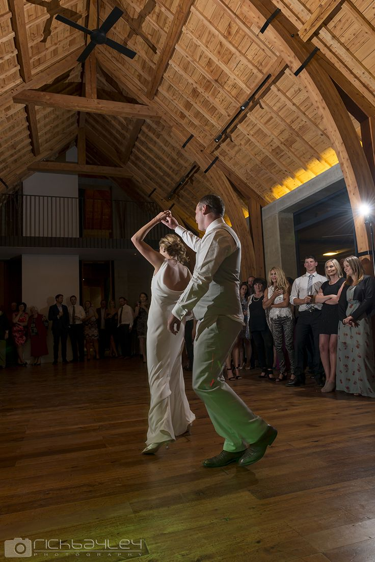 First dance in The Rippon Hall