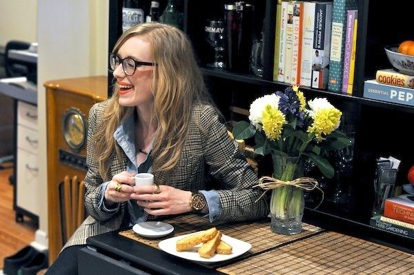 Foodie, Kim Pesch, of Eat.Sleep.Wear gives Glitter Guide a sneak peak into her Philadelphia home.