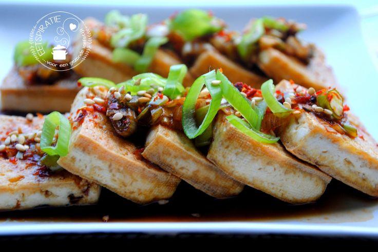 Met tahoe of tofu kun je de lekkerste gerechten maken. Het is geen vleesvervanger maar een heerlijk product op zichzelf. Probeer dit simpele gerecht eens!