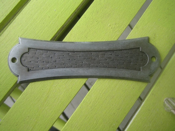 Supply line....drawer pull plate pair $9.00