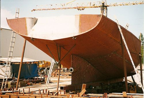 steel vessel construction