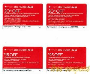 macy's coupons for memorial day weekend