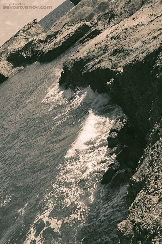 "Rocky Coast From ""Caribbean"" prints collection. Atlantic Ocean Photography"