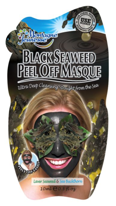 I'm learning all about Montagne Jeunesse Black Seaweed Peel Off Masque at @Influenster! @MontagneJeuness