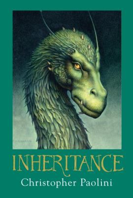 Inheritance (Inheritance #4): Not so very long ago, Eragon--Shadeslayer, Dragon Rider--was nothing more than a poor farm boy, and his dragon, Saphira, only a blue stone in the forest. Now the fate of an entire civilization rests on their shoulders. Long months of training and battle have brought victories and hope, but they have also brought heartbreaking loss. And still, the real battle lies ahead: they must confront Galbatorix...