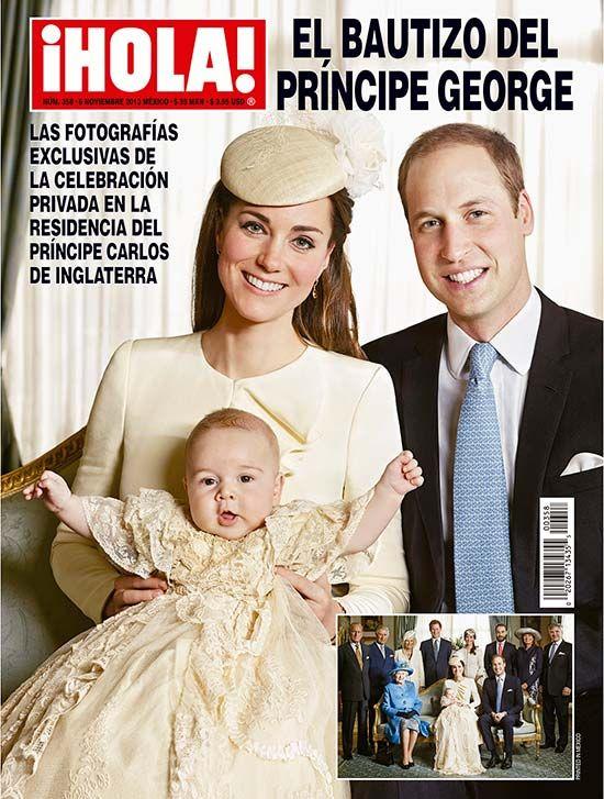 En ¡HOLA!: El príncipe George de Cambridge, 'rey' por un día en su bautizo. Excepcional reportaje con imágenes exclusivas