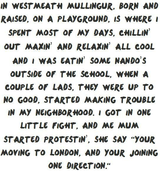 Awesome Fresh Prince of Bel Air Niall Style
