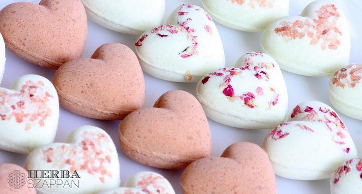 Valentin nap / Valentine's day gift - bath bomb