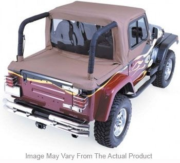 1992-1995 Jeep Wrangler (yj) Summer Top Rampage Jeep Summer Top 993011 92 93 94 95