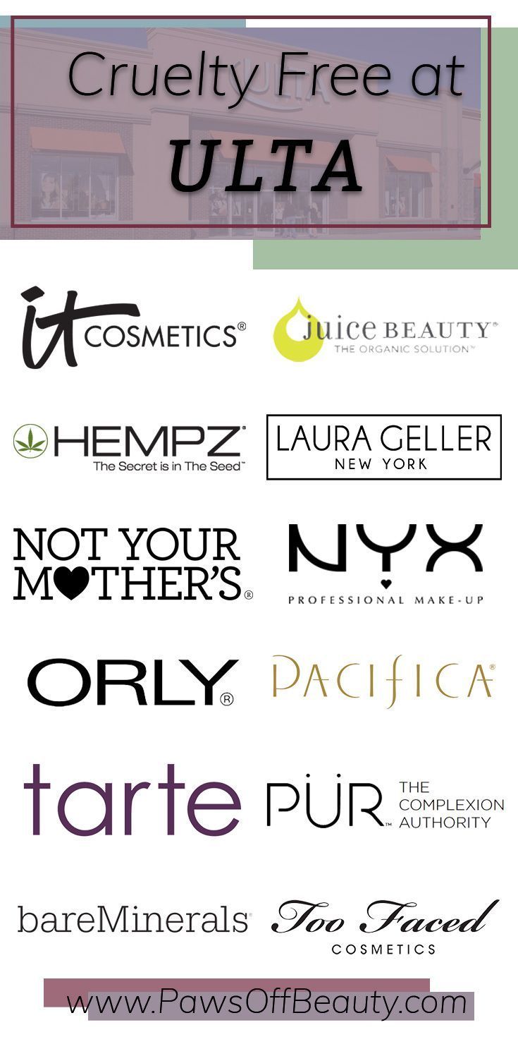 CrueltyFree Brands at Ulta (With images) Cruelty free