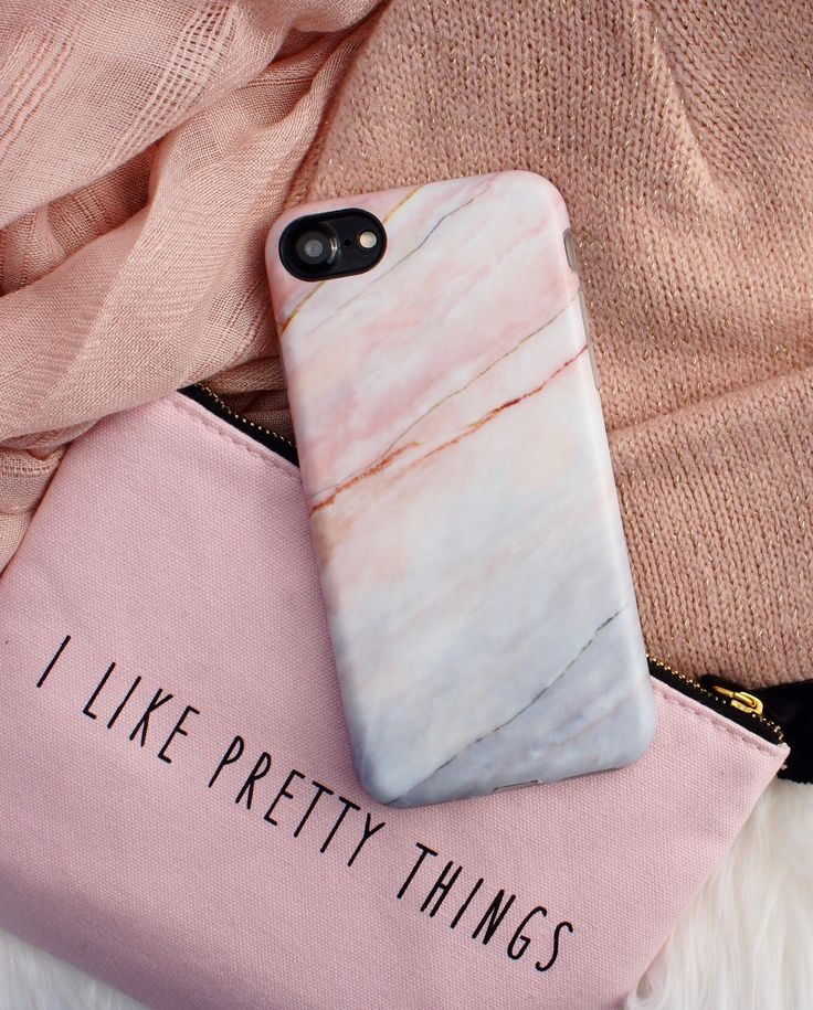 Marble Case In Smoked Coral For Iphone 7 Amp Iphone 7 Plus
