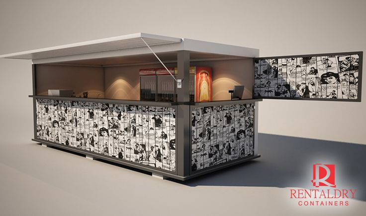 Lanchonete Container | Project - Salada Express ...