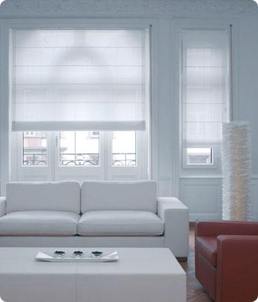 witte vouwgordijnen van maatstudio.nl , interieur, gordijnen