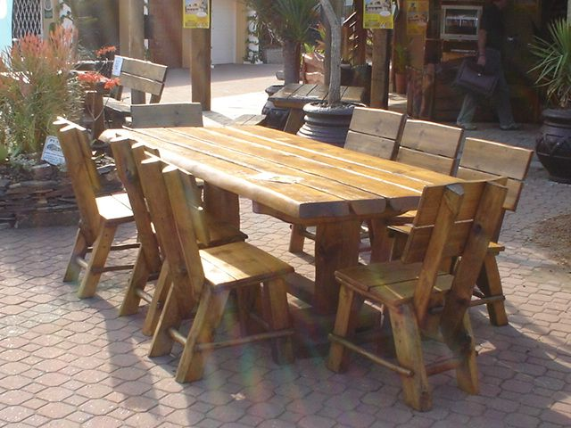Patio Set Available with 6, 8 & 10 Chairs