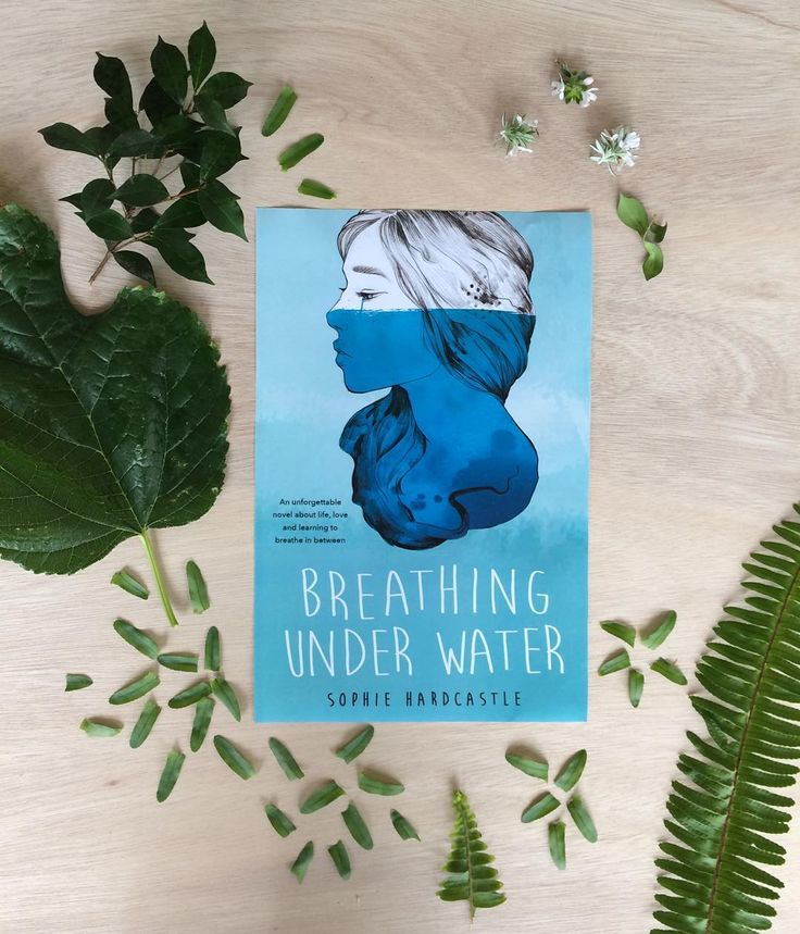 """When your publisher assigns you the sole task of uploading the cover of your book to social media and you upload the wrong one... PRESENTING the (real) cover of my debut novel BREATHING UNDER WATER (feat. Leaf clippings from my backyard forest). """"An evocative and unforgettable debut novel to rival Rainbow Rowell and John Green for the most memorable and heartbreaking crossover fiction."""" - Hachette Australia  In stores July 2016. by sophie_hardcastle"""