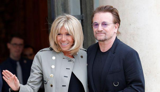 Le président de la République a reçu le chanteur de U2 ce lundi à l'Elysée. Il s'est engagé à augmenter la part du PIB consacrée à l'aide au développement.