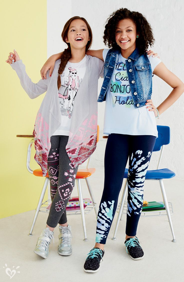 $16 Print-Perfect Leggings. Wear them with matching ...