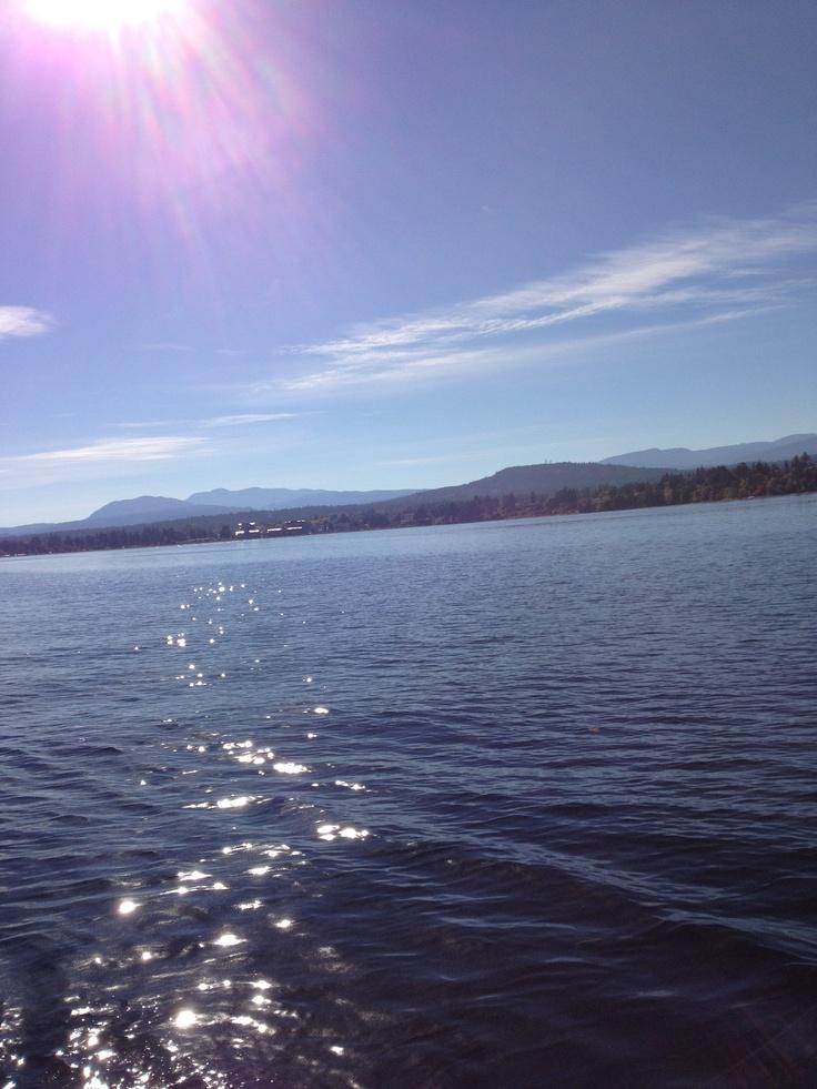 Parksville Beach Vancouver Island BC
