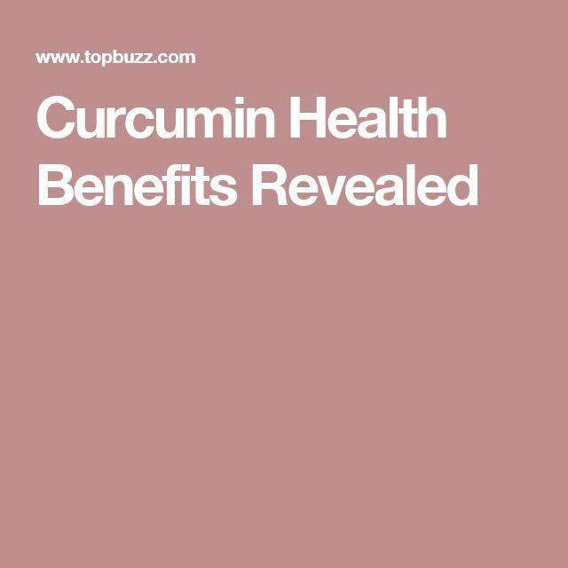 Curcumin Health Benefits Revealed