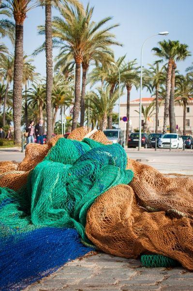 """A la rencontre des pêcheurs du port de Palma - Carnet de voyage """"Week end à Majorque"""""""