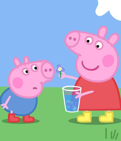 Sweet pig family provides gentle lessons to preschoolers. Check out our full review of Peppa Pig,