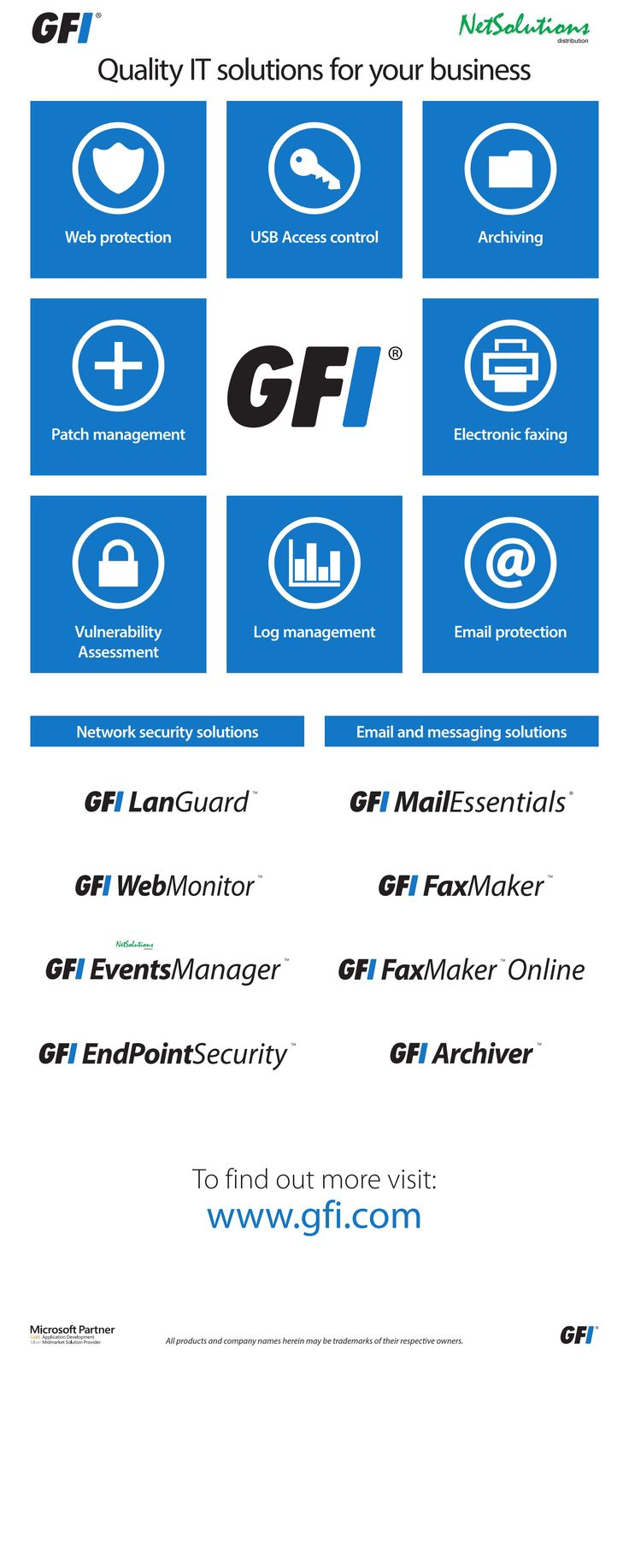 PT. #Netsolutions Infonet #GFI Quality IT solutions for your business