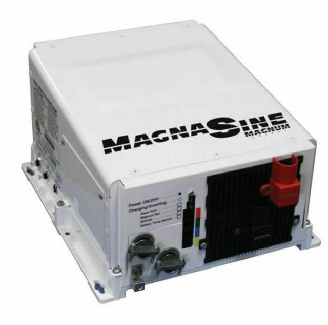 Magnum Ms2812 2800w 12v Pure Sine Wave Inverter Charger 125a Magnumenergy Solar Inverter Off Grid Solar Solar Panel Kits