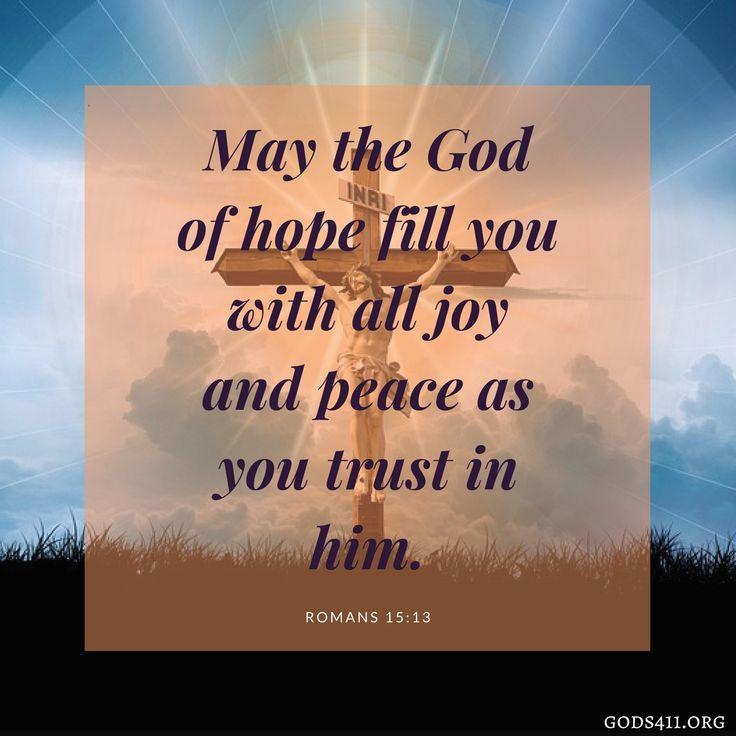 Romans 15:13   Bible Verse