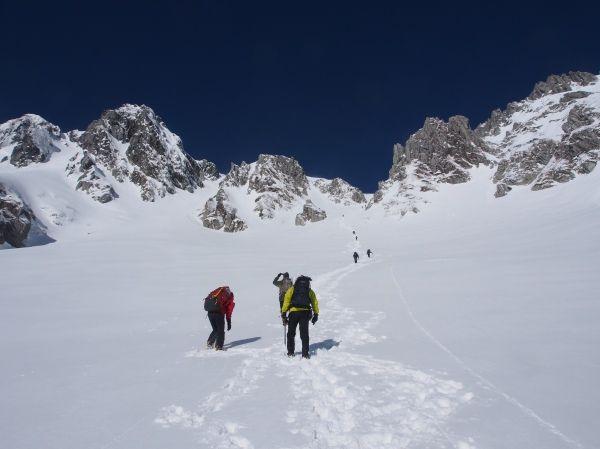 冬の木曽駒ヶ岳|中央アルプス登山ルートガイド。Japan Alps mountain climbing route guide