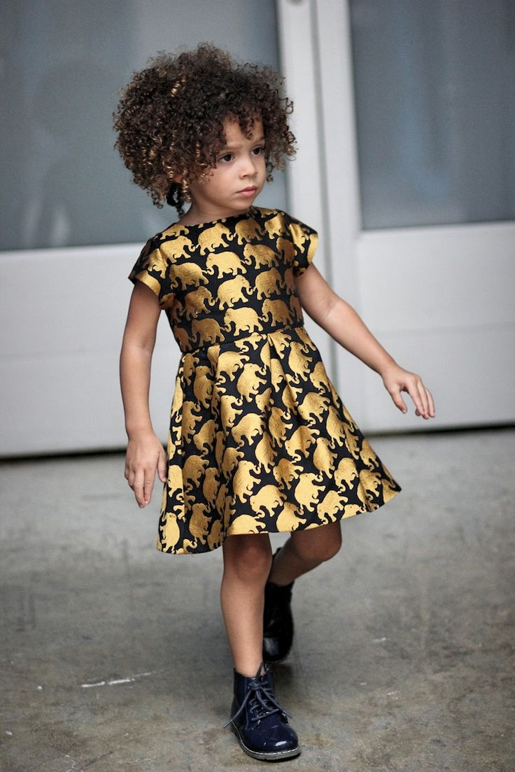 Scout The City | A Fashionable Lifestyle Blog — OMGosh, shes so stinkin cute! What lovely hair