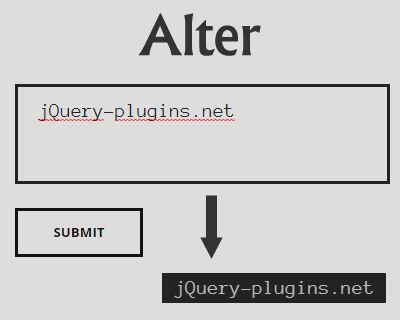 Alter – Convert Text to Image #image #canvas #convertor #HTML5 #text #texttoimage #convert