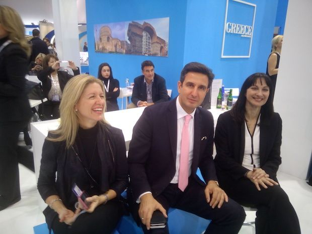 Greece unveils tourism strategy for 2017 at WTM