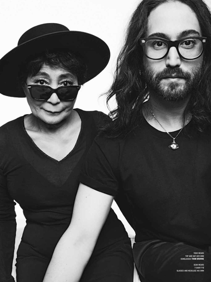 Yoko Ono and Sean Lennon - V #82 by Philippe Vogelenzang, Spring 2013