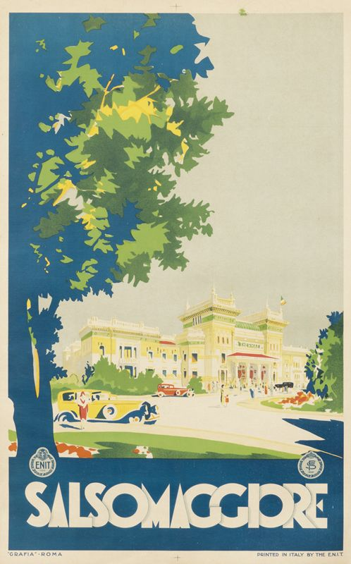 Salsomaggiore - ENIT by Artist Unknown   Vintage Posters at International Poster Gallery