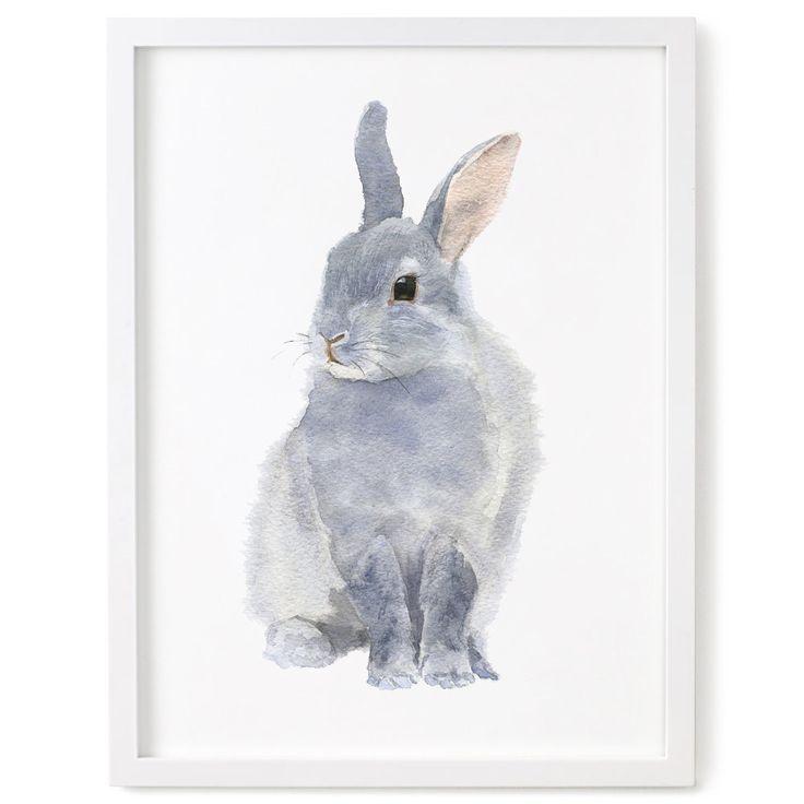 Konijn Print, Bunny aquarel Print, konijn kunst door chocovenyl op Etsy https://www.etsy.com/nl/listing/226285485/konijn-print-bunny-aquarel-print-konijn
