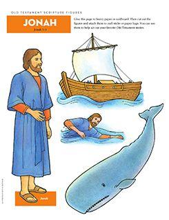 Old Testament Scripture Figures, Jonah More