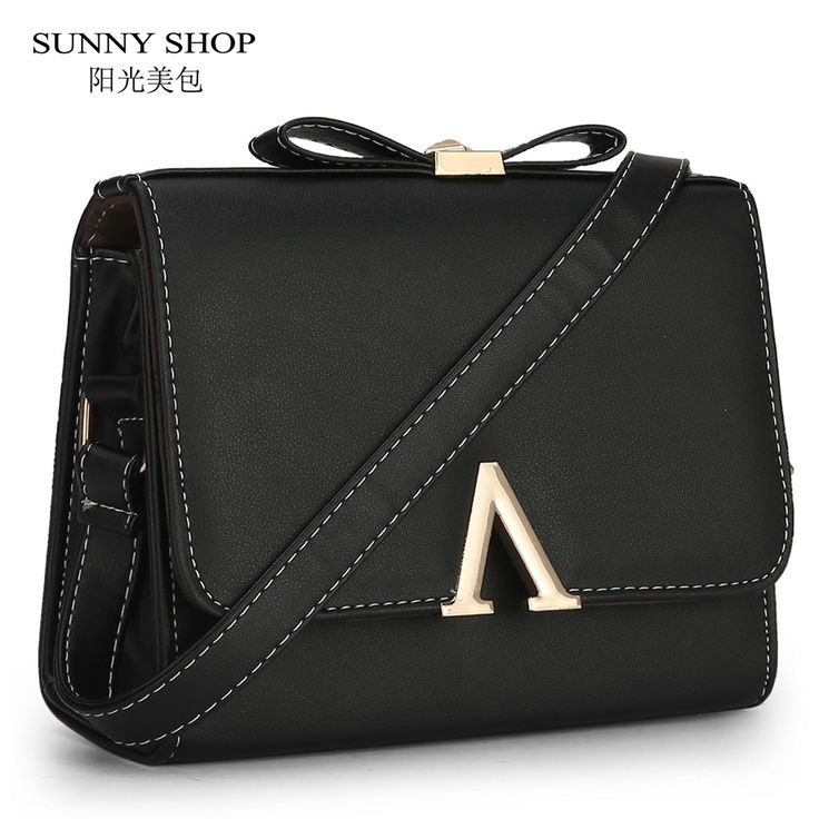 SUNNY SHOP 2017 New Spring Candy Color Women Bag Cute Shoulder Bags For Lady School Handbags Small Messenger Bags For Girls  #Affiliate