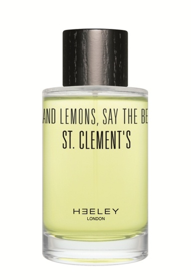 ORANGES AND LEMONS SAY THE BELLS OF ST. CLEMENT'S  Testa: Arancia . Limone . Bergamotto . Mandarino  Cuore: Neroli . Petitgrain . Tè Earl Grey  Fondo: Ylang Ylang . Vetiver . Muschio         Per lui: un uomo di Mayfair, St. James, Belgravia e Bow.    Per lei: Mirte Mass. Scott's in Mount Steet. London Fashion Week.