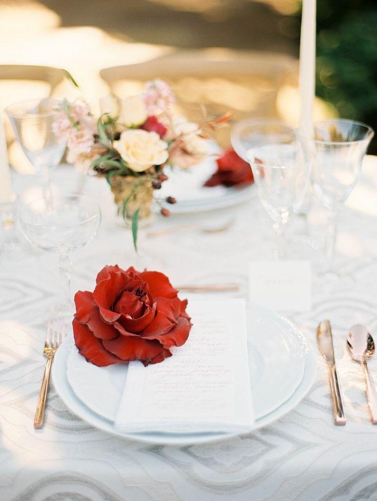 Autumn Wedding Place Setting // Photography ~ Kristin La Voie Photography