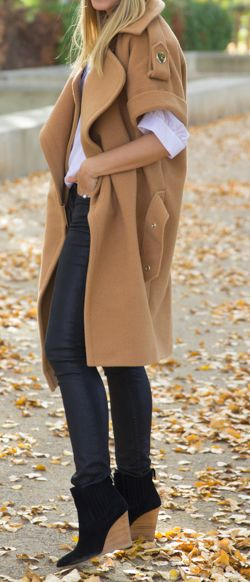 Fall style - Oversized coat